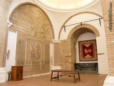 visita-guiada-alcazar-de-los-reyes-cristianos-salon-de-los-mosaicos